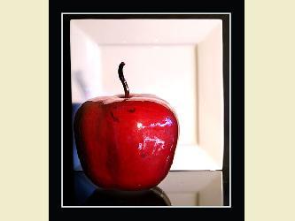 Apple – Varnished – Red, Burgandy, green, Orange, Light Brown, Dark Brown – 0011-D